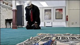 Inside Quantico Islamic Center